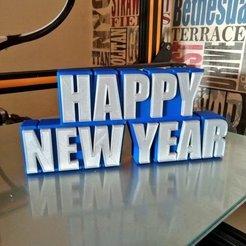 Descargar archivos 3D gratis Feliz Año Nuevo, Bugman_140