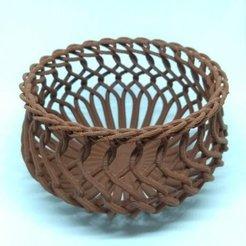 Free 3D printer files Vine Basket, Bugman_140