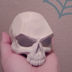 43fa42a557c5f740752f551097a5122d_display_large.jpg Download free STL file SKULL - SCAR • 3D printer model, Bugman_140