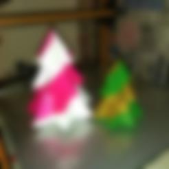 Candy_Cane_Christmas_Tree_-_Red_V1.stl Download free STL file Candy Cane Christmas Tree • 3D printable design, Bugman_140