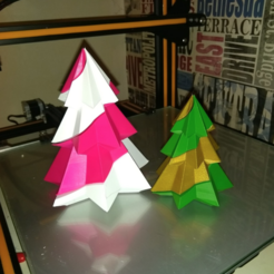 Free 3D printer files Candy Cane Christmas Tree, Bugman_140