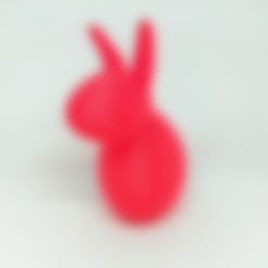 Googie_-_Bunny.stl Download free STL file Googie Bunny - NOT WOBBLE • 3D printable model, Bugman_140