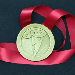Download free 3D printing files Hercules Medallion, Bugman_140