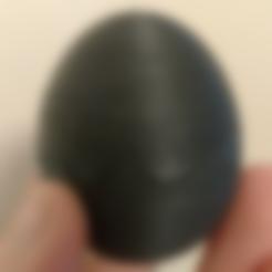 Hatching_Egg_Empty.stl Download free STL file Surprise Egg • 3D printable design, Bugman_140