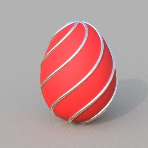 Free 3D print files Spiral Egg, Bugman_140