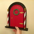Free STL files Elf Door, Bugman_140