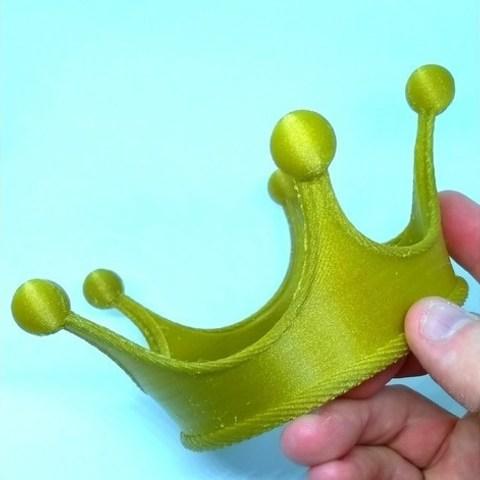 Descargar STL gratis Corona 3D Fun King, Bugman_140