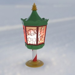Christmas_Latern_2019_thingiverse.jpg Download free STL file Christmas Lantern • 3D printable object, Bugman_140