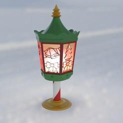 Descargar archivo 3D gratis Linterna de Navidad, Bugman_140