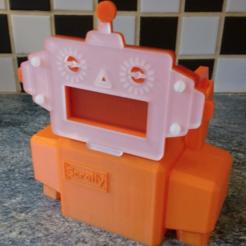 Free 3d printer designs Scrolly - ScrollBot Body, Bugman_140