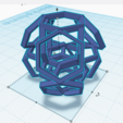 STL file Hexagon art, RedHot
