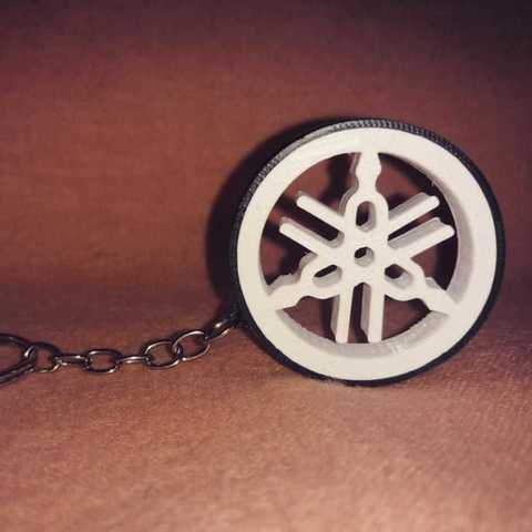STL Yamaha key ring, brunoctt