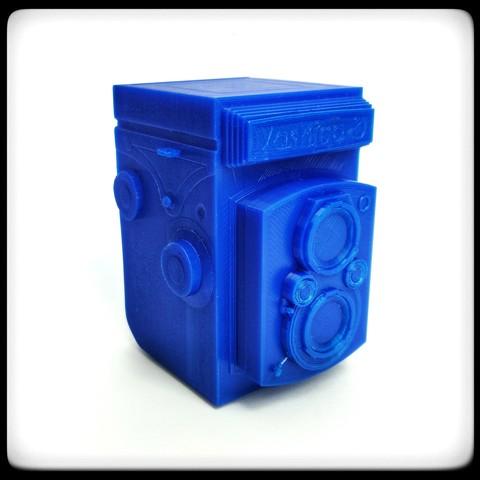 Descargar STL Cámara TLR Yashica-D, 3DCLEVER