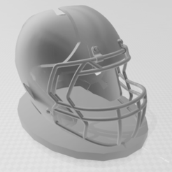 Download free STL Football Helmet Pencil Holder, 3DCLEVER