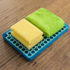 2.jpg Download STL file Sponge holder • 3D print template, Ocrobus