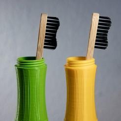 Descargar modelos 3D Cepillo de bambú, Ocrobus
