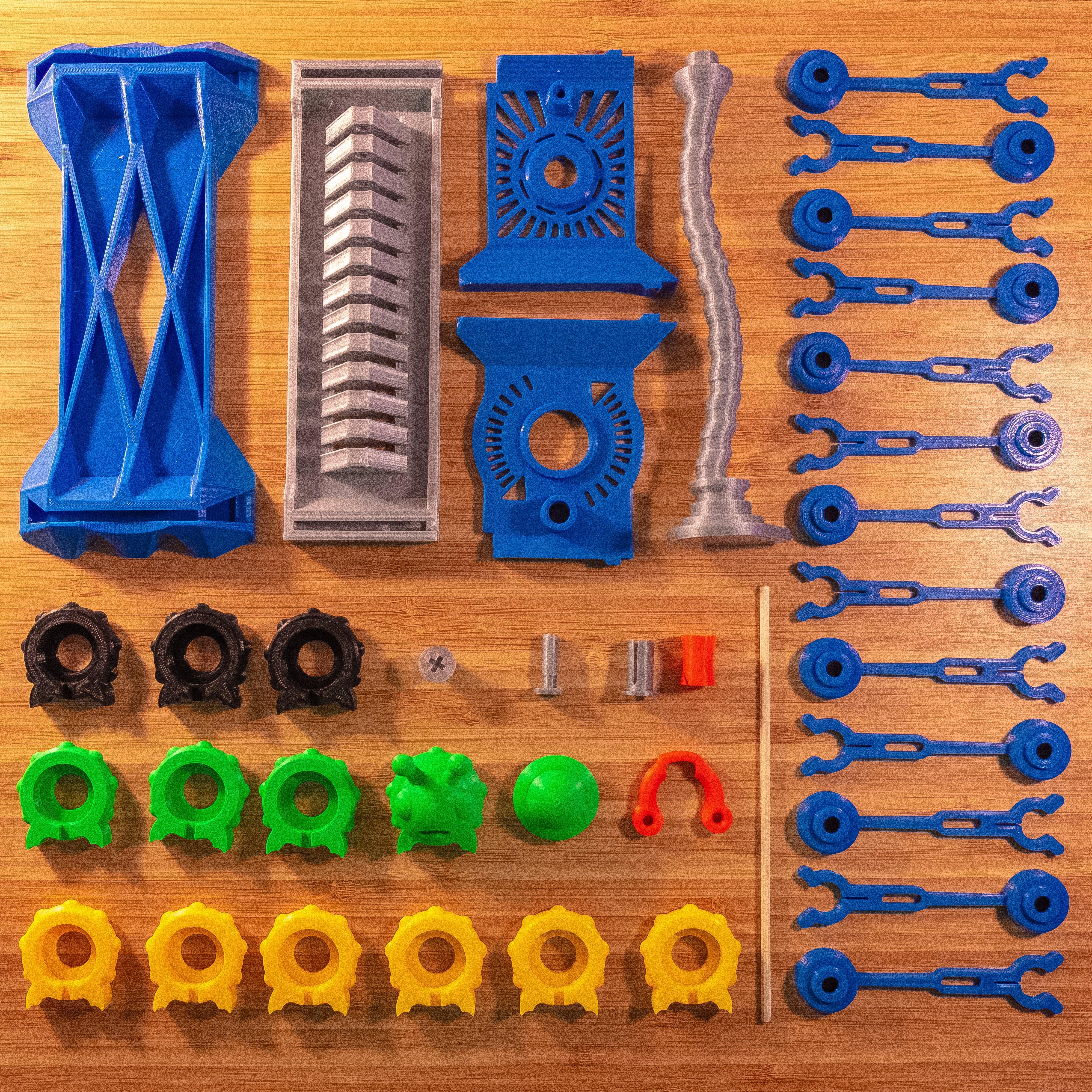 2.jpg Download STL file Shape Shaker_Caterpillar • Design to 3D print, Ocrobus