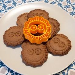 Download 3D printing templates Cookie cutter - Miyazaki -  Makkuro-Kurosuke , Ocrobus