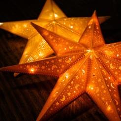 A.jpg Télécharger fichier STL Lumière de l'étoile de Noël • Objet imprimable en 3D, Ocrobus