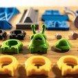Imprimir en 3D gratis Mezclador de formas, Ocrobus