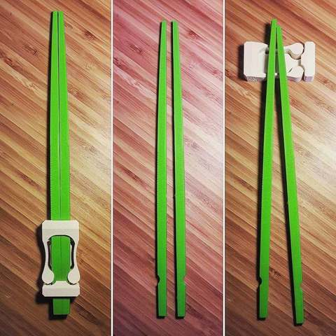 Download free 3D printer templates Hyper chopsticks, Ocrobus