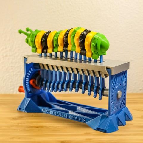 2-14.jpg Download STL file Shape Shaker_Caterpillar • Design to 3D print, Ocrobus