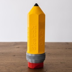 2-5.jpg Download STL file Pencil-ONE • Template to 3D print, Ocrobus