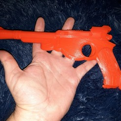 Download free 3D printing files The Mandalorian Blaster, A_SKEWED_VIEW_3D