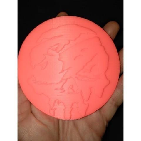Descargar Modelos 3D para imprimir gratis MAR DE LADRONES DOBLÓN, A_SKEWED_VIEW_3D