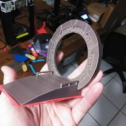 Download free STL file Stargate (NO SUPPORTS) • 3D print design, A_SKEWED_VIEW_3D