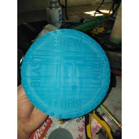 9f1ea55ed2dd9151bf63715d12a07f03_preview_featured.jpg Download free STL file BREW IT PRINT IT BUILD IT BLAST IT CUSTOM SHIELD • 3D print object, A_SKEWED_VIEW_3D