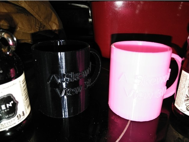 a496297c4eb160ddfe4d1c72986acd67_preview_featured.jpg Download free STL file A SKEWED VIEW 3D MUG • 3D printer template, A_SKEWED_VIEW_3D