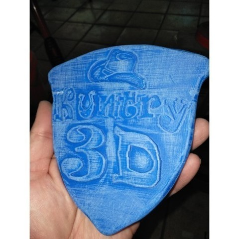 a93f4af19ec60cb14911c66e902e2739_preview_featured.jpg Download free STL file KUNTRY 3D CUSTOM SHIELD • Model to 3D print, A_SKEWED_VIEW_3D