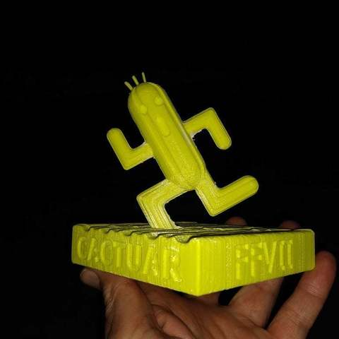 Free 3D printing templates Final Fantasy VII - Cactuar (NO SUPPORTS