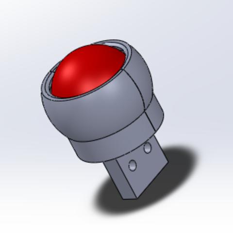 Free 3D printer designs Roulette à bille, quentin6