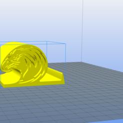 EAGLE_MOBILE_HOLDER.png Download free STL file Eagle phone holder • 3D printable object, admis