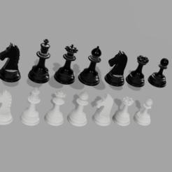 MY_NEW_DRAWN_CHESS__03.png Télécharger fichier STL gratuit ÉCHECS # 1 • Design imprimable en 3D, admis