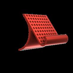 MY_15_MM_PHONE_HOLDER_WITH_CIRCLES__03.png Télécharger fichier STL gratuit SUPPORT DE TÉLÉPHONE 15 MM • Plan pour impression 3D, admis