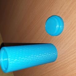Impresiones 3D Contenedor moleteado, admis