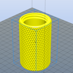 Download free STL files Small Knurled Container , admis