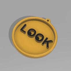 LOOK_MEDAL__1.png Télécharger fichier STL gratuit RECHERCHER UNE MÉDAILLE • Design à imprimer en 3D, admis