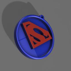 Download free 3D printing files SUPERMAN MEDAL, admis