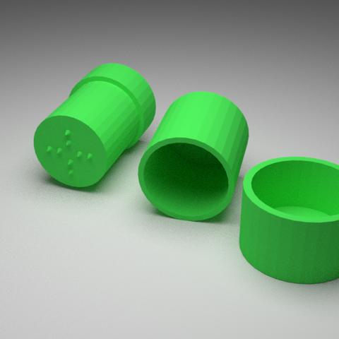 Free 3D printer files Grinder (Test), V-design