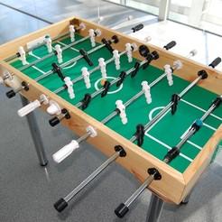 Modelo 3D Accesorios de la mesa de futbolín gratis, RimvydasP