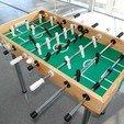 Download free 3D printing files Foosball table accessories, RimvydasP