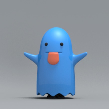 boo04.jpg Download free OBJ file Bed sheet Boo boo • 3D printable design, zebracan