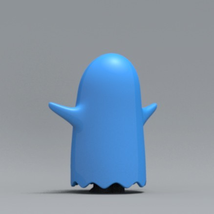 boo06.jpg Download free OBJ file Bed sheet Boo boo • 3D printable design, zebracan