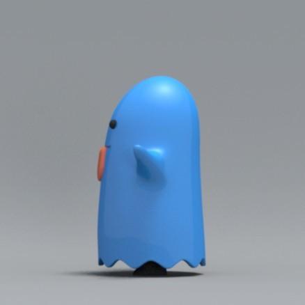 boo05.jpg Download free OBJ file Bed sheet Boo boo • 3D printable design, zebracan