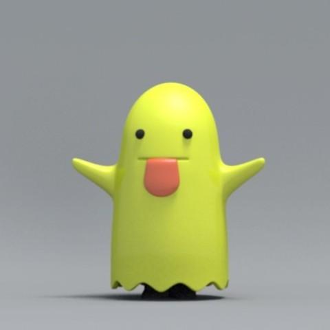 boo03.jpg Download free OBJ file Bed sheet Boo boo • 3D printable design, zebracan