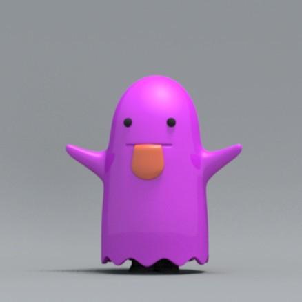 boo01.jpg Download free OBJ file Bed sheet Boo boo • 3D printable design, zebracan